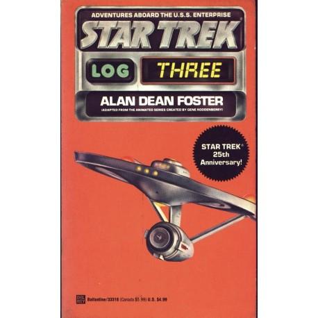 Star Trek Log Three - Alan Dean Foster