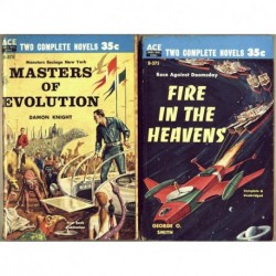 Masters of Evolution / Fire in the Heavens - Damon Knight / George O. Smith